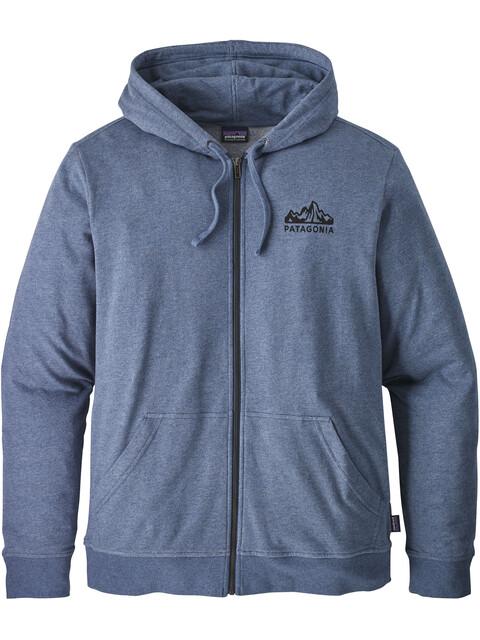 Patagonia Fitz Roy Scope Lightweight Full-Zip Hoody Men Dolomite Blue